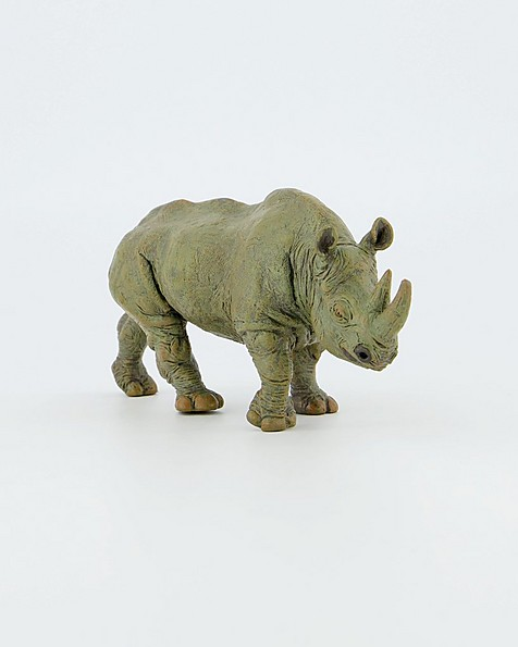 Black Rhinoceros Toy -  purple