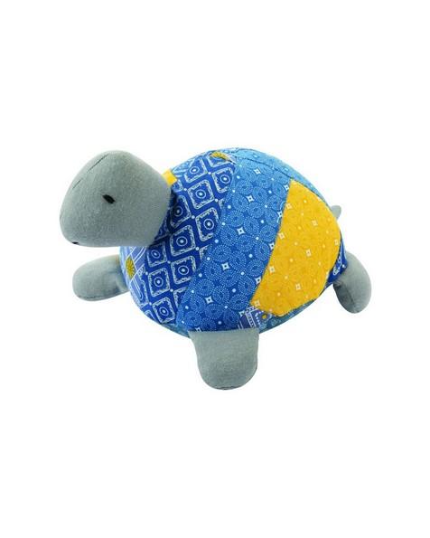 Tortoise Soft Toy -  blue