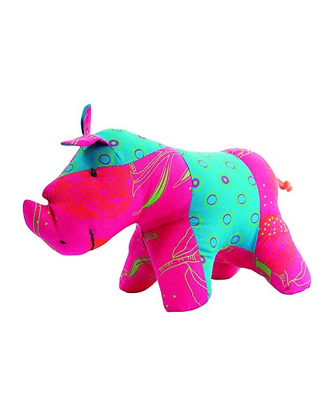 Rhino Girl Soft Toy -  assorted