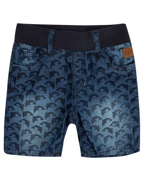 Boys Blake Denim Shorts -  midblue