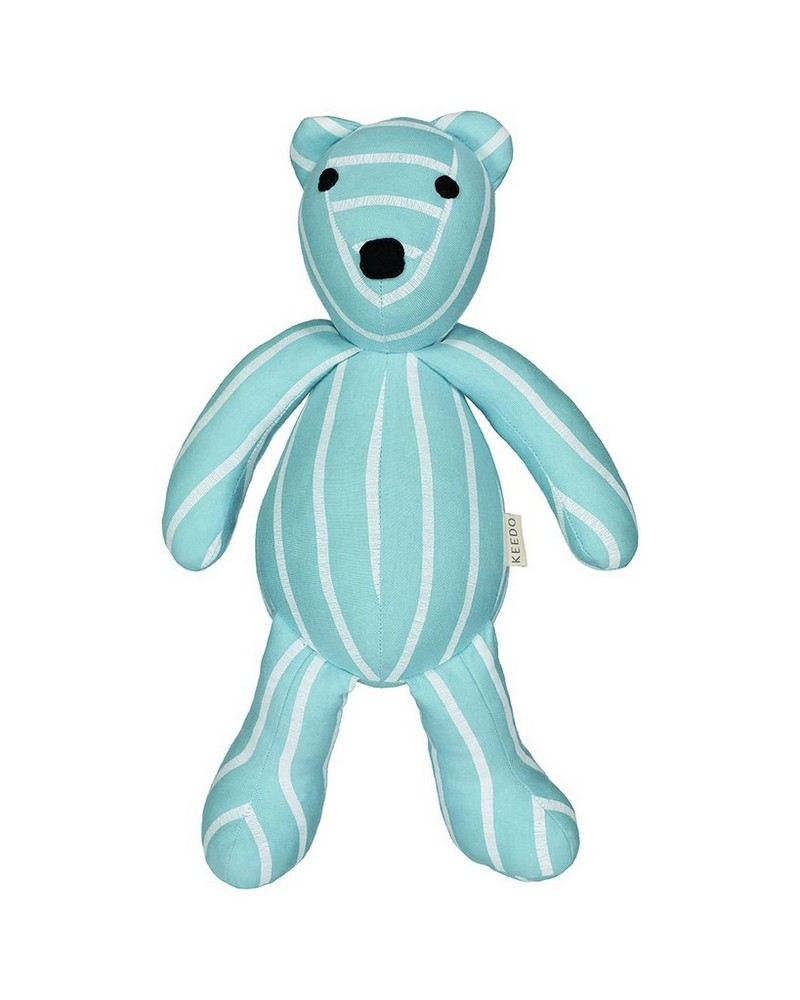 Boys Blue Stripe Small Bear -  assorted