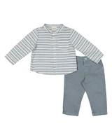 Baby Boys Smart Set -  white