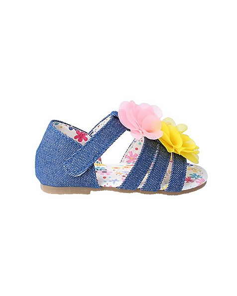 Baby Girls Lorraine Soft Sole Sandal -  indigo