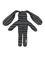 Stripe Brave Bunny -  graphite