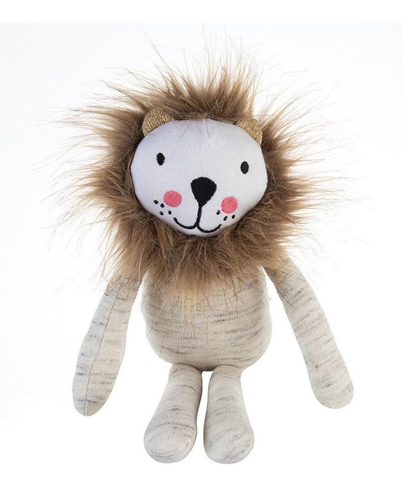 Lion Soft  Toy -  cream