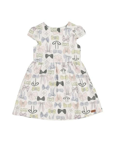 Girls Picnic Dress -  white