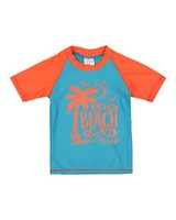 Boys Crab Sun Top -  seablue