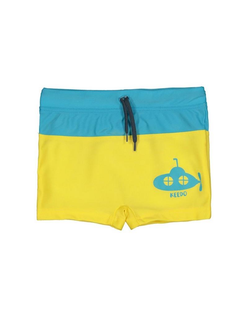 Baby Boys Submarine Trunks -  yellow