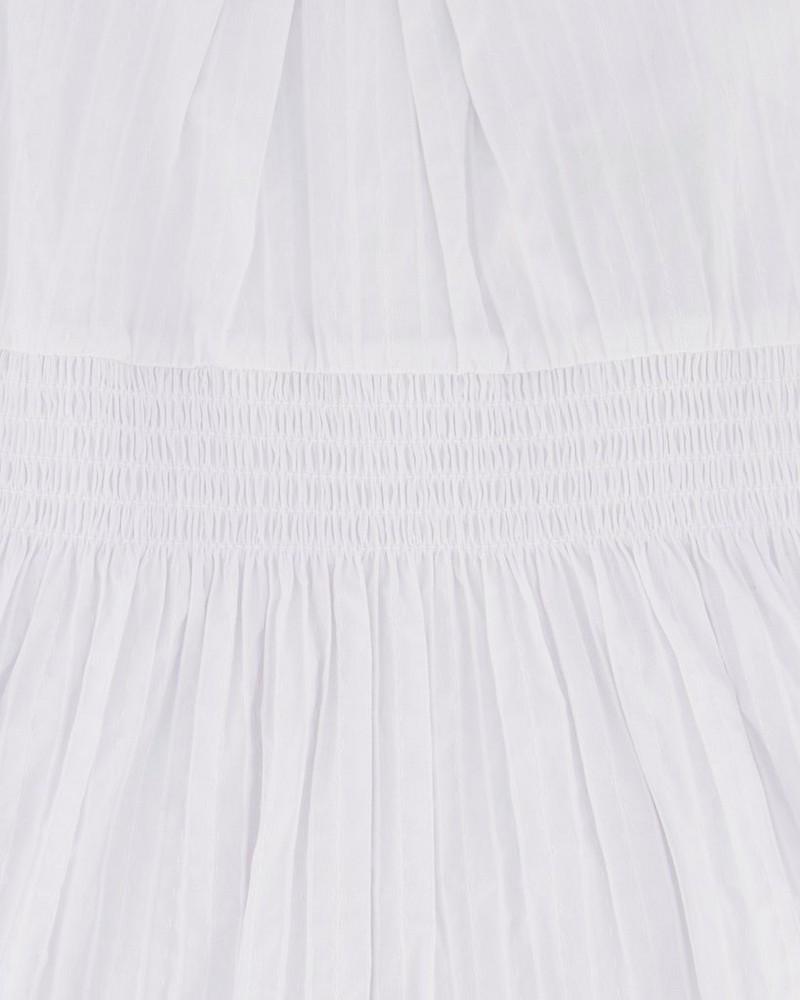 Girls Lauren Dress -  white