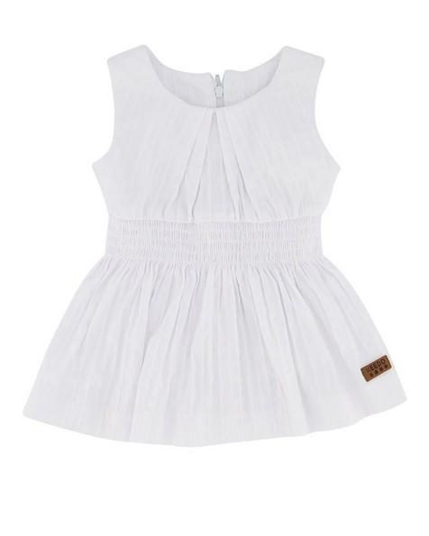 Baby Girls Lauren Dress -  white
