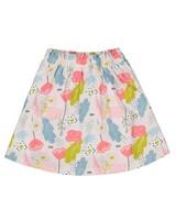 Baby Girls Pearl Skirt -  white