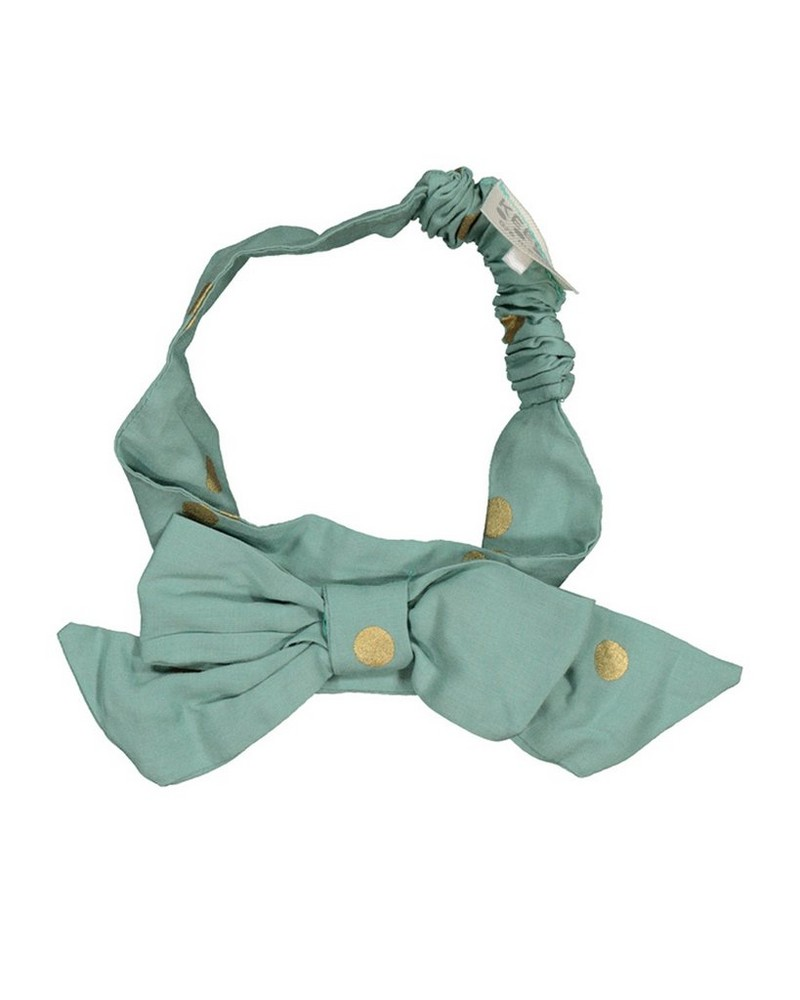 Baby Girls Glitzy Headband -  green