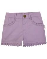 Girls Camilla Shorts -  lilac