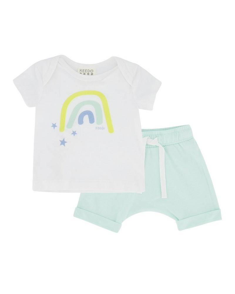 Baby Boys Fun Set -  white
