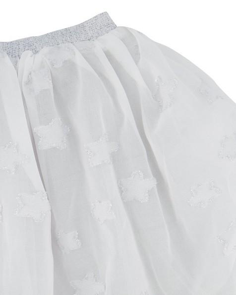 Girls Shimmer Tutu -  white