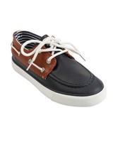 Boys Bentley Boater Shoe -  navy
