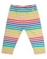 Girls Colourful Stripe Leggings -  assorted