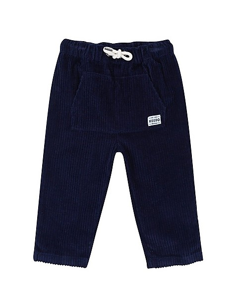 Baby Boys Bradley Corduroy Pants -  indigo