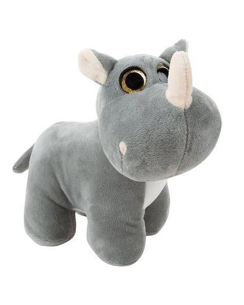Standing Rhino -  grey