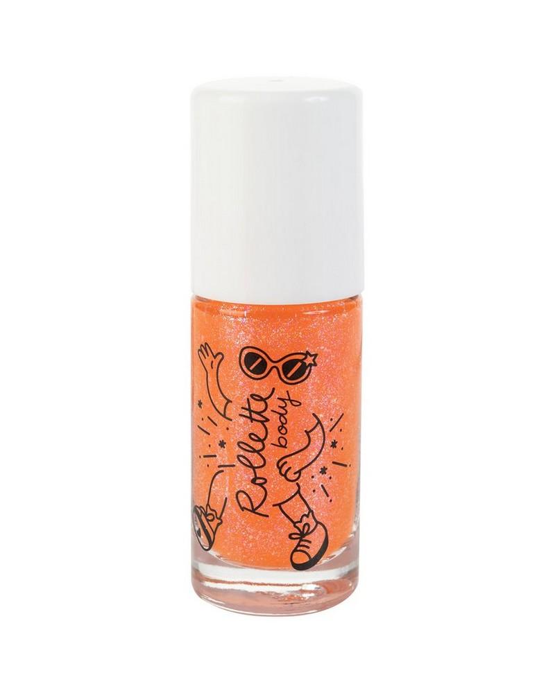 Peach Body Glitter Rolette -  orange