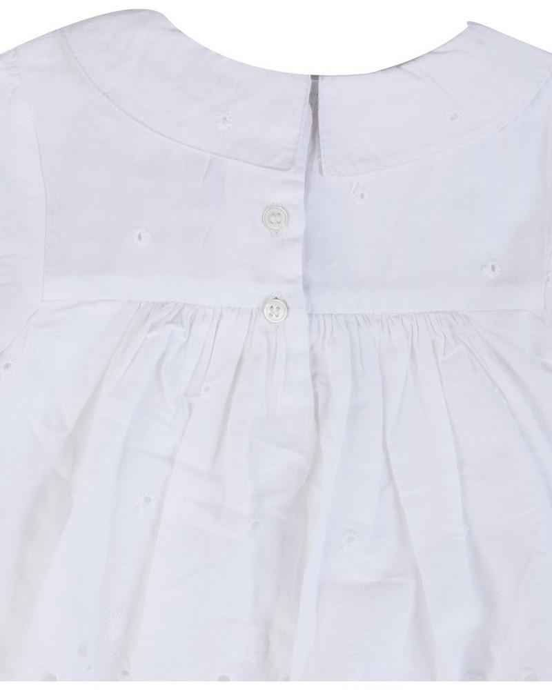 Baby Girls Bonnie Grow -  white
