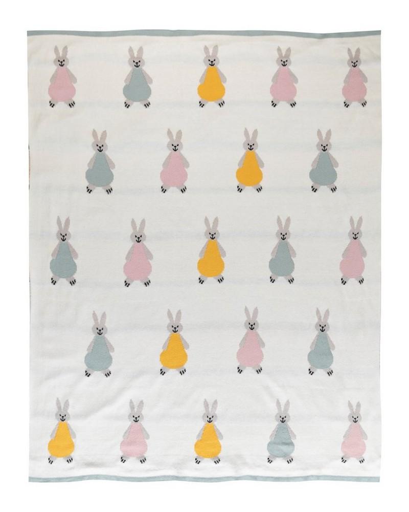 Bunny Blanket -  milk