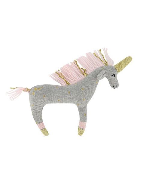 Unicorn Rattle -  silvergrey