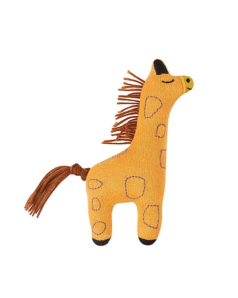 Giraffe Rattle -  eggyellow