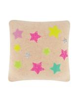 Neon Star Cushion -  milk