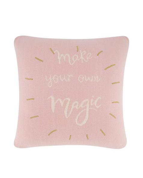Graphic Magic Cushion -  palepink