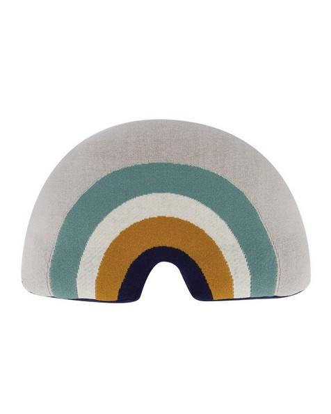 Rainbow Shaped Cushion -  milk