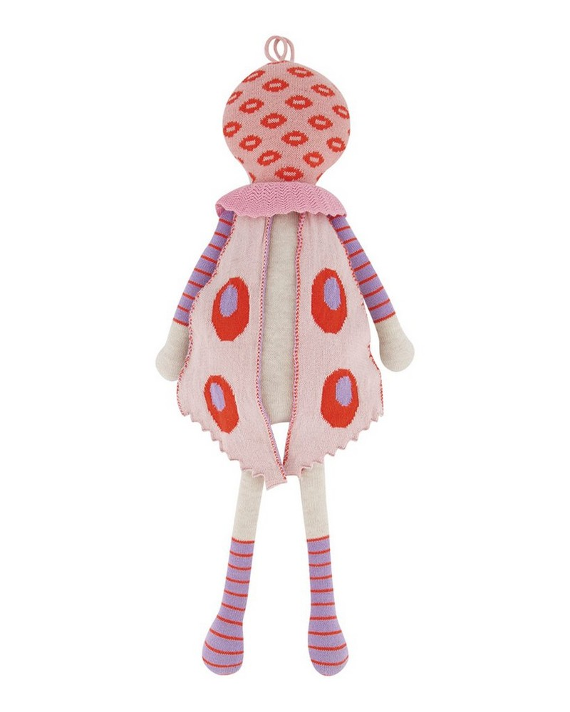 Pink Winged Doll -  flamingo