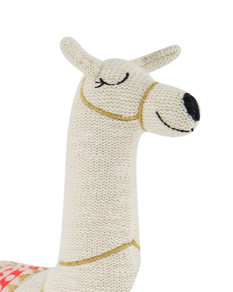 Llama Toy on Wheels -  milk