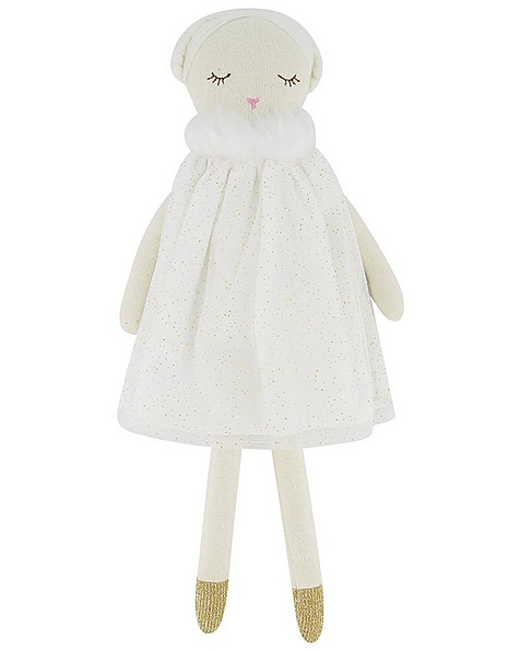 Soft Doll Toy -  white