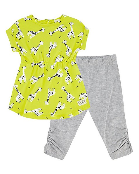 Baby Girls Giraffe Set  -  no-colour