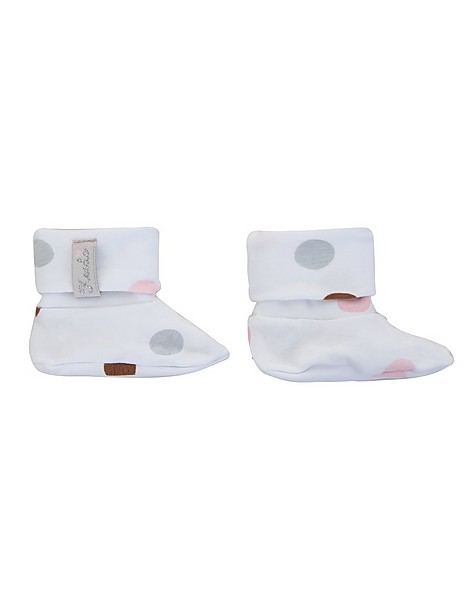 Angie Booties -  white