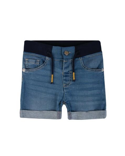 Baby Boys James Denim Shorts -  blue