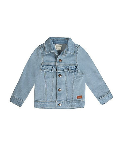 Baby Girls Indi Denim Jacket -  lightblue
