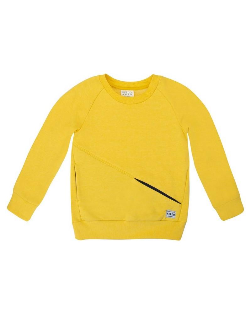 Boys Emmitt Sweater -  eggyellow