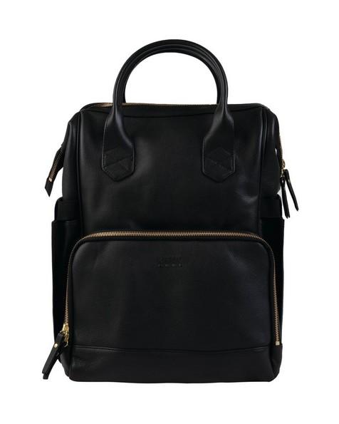 Nappy Backpack -  black