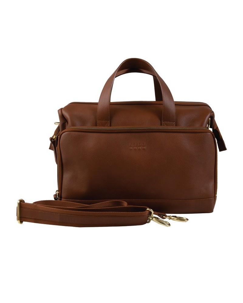 Nappy Sling Bag -  tan