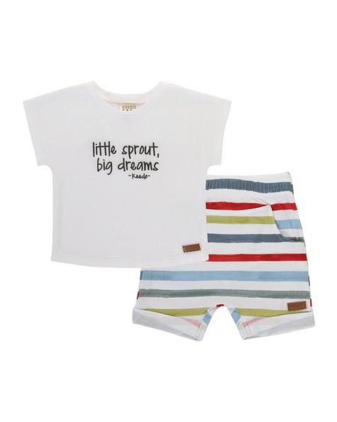Baby Boys Sean Set -  chartreuse