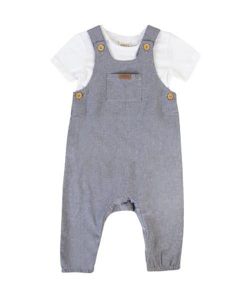 Baby Boys Everett Dungi Set -  midblue
