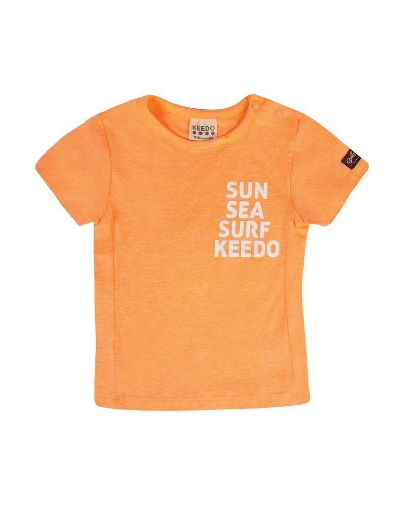Baby Boys Tristian Tee -  orange
