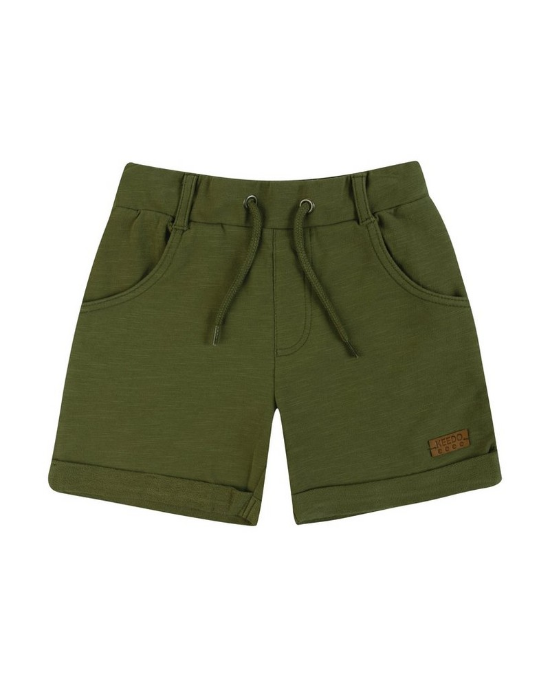 Boys Ted Shorts -  fatigue