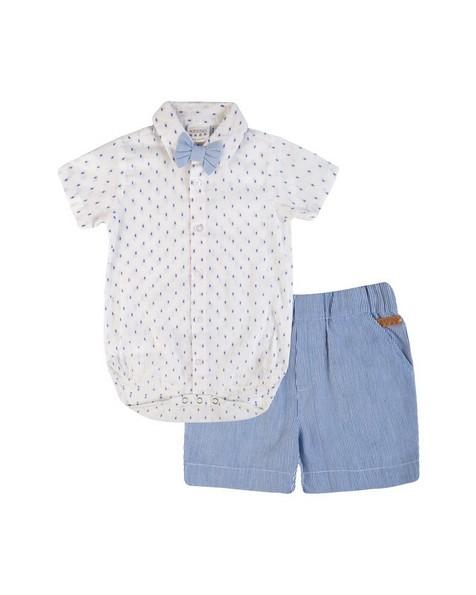 Baby Boys Oliver Smart Set -  white