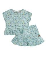 Girls Lena Skirt Set -  lightblue