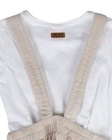 Girls Jane Skirt Dungi Set -  lightgrey