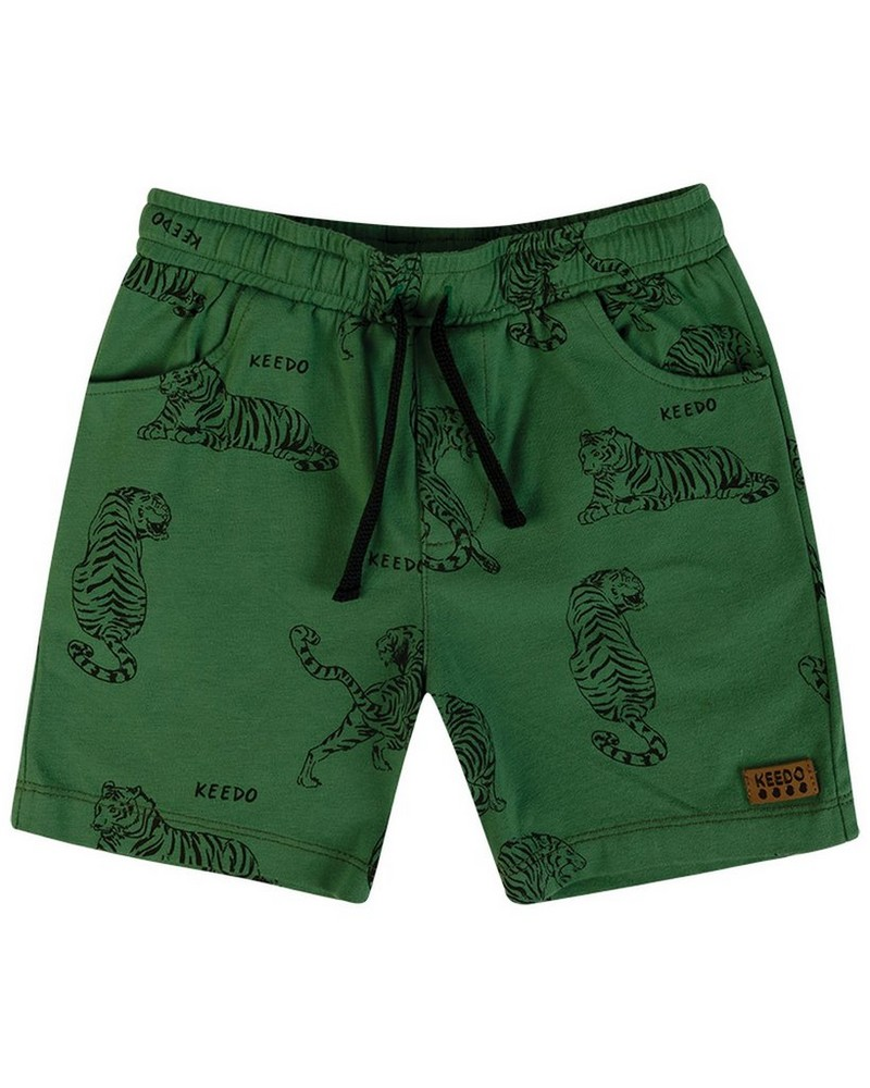 Boys Forest Soft Shorts -  fatigue