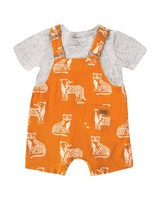 Baby Boys Patrick Dungi Set -  pumpkin